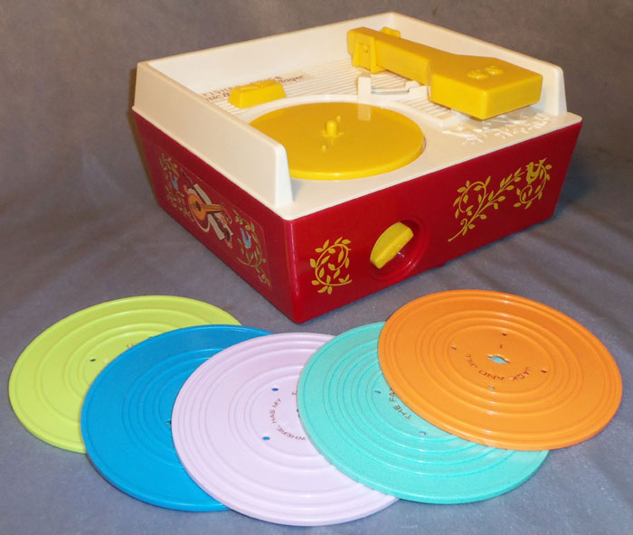 Fisher Price - music box record player Fp995-2010s