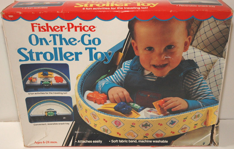 1251 Fisher Price On The Go Stroller Toy