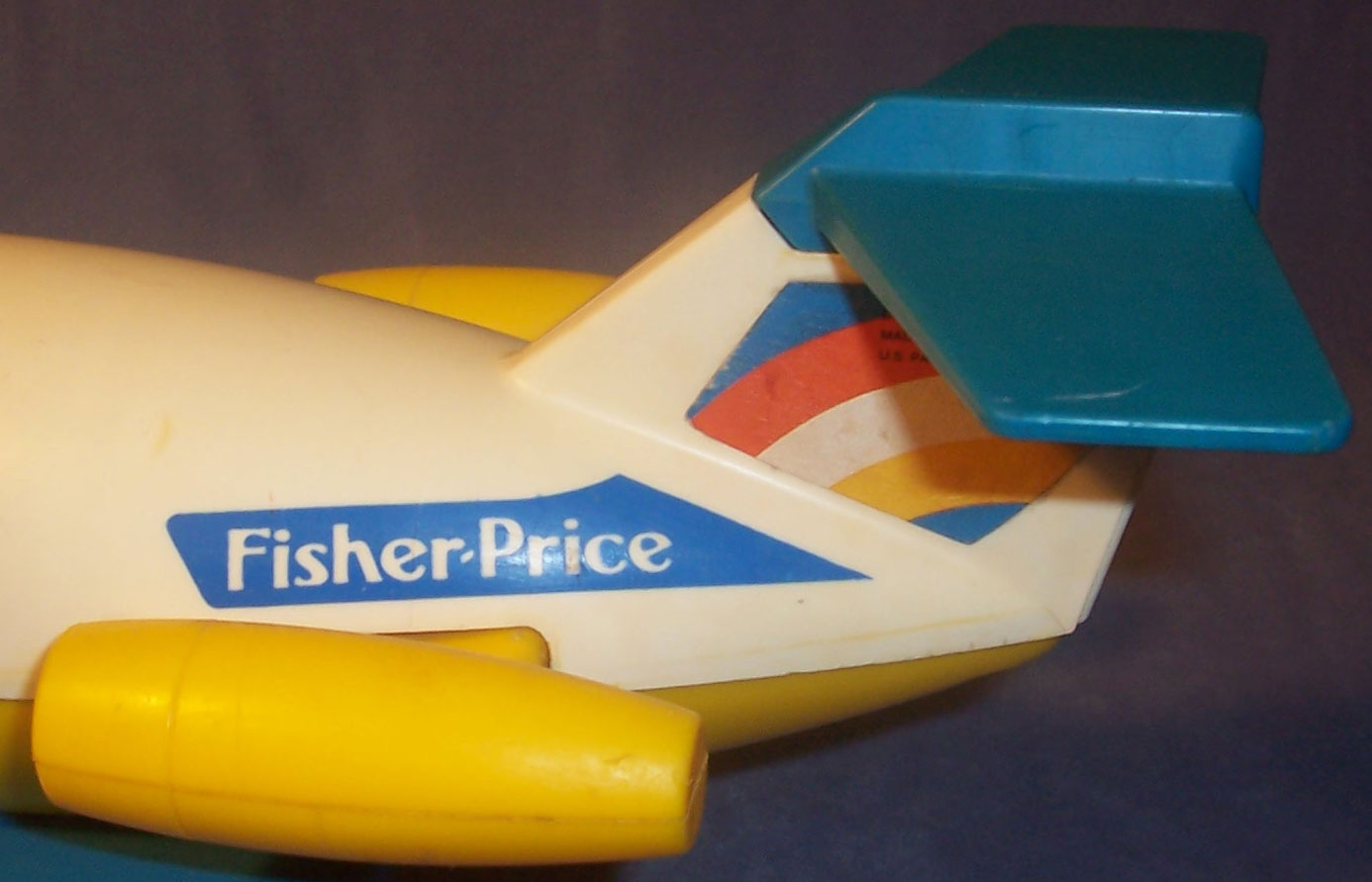 This Old Toy's Fisher-Price Original Little People Vehicles