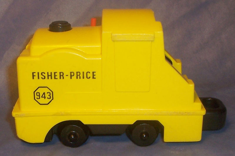 This Old Toy's Fisher-Price Original Little People Vehicles - Small Train Engine Identification