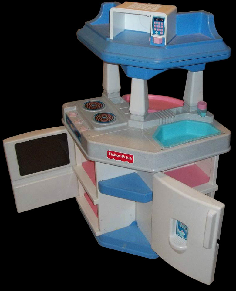 description the 1st fisher price child size kitchen was introduced in