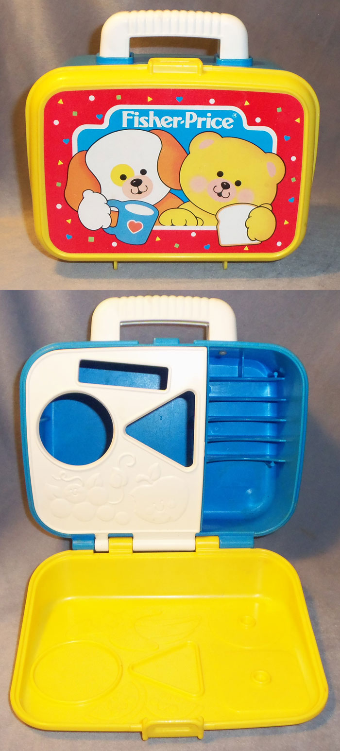 Fisher Price Toy Food : This old toy s fisher price fun with food quot lunchbox