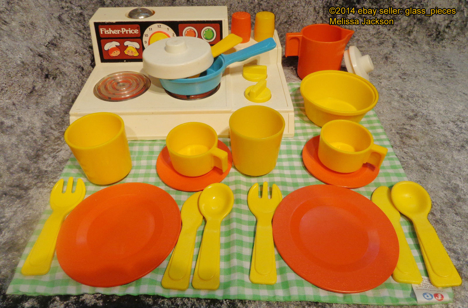 Fisher Price Toy Food : This old toy s fisher price fun with food quot lids