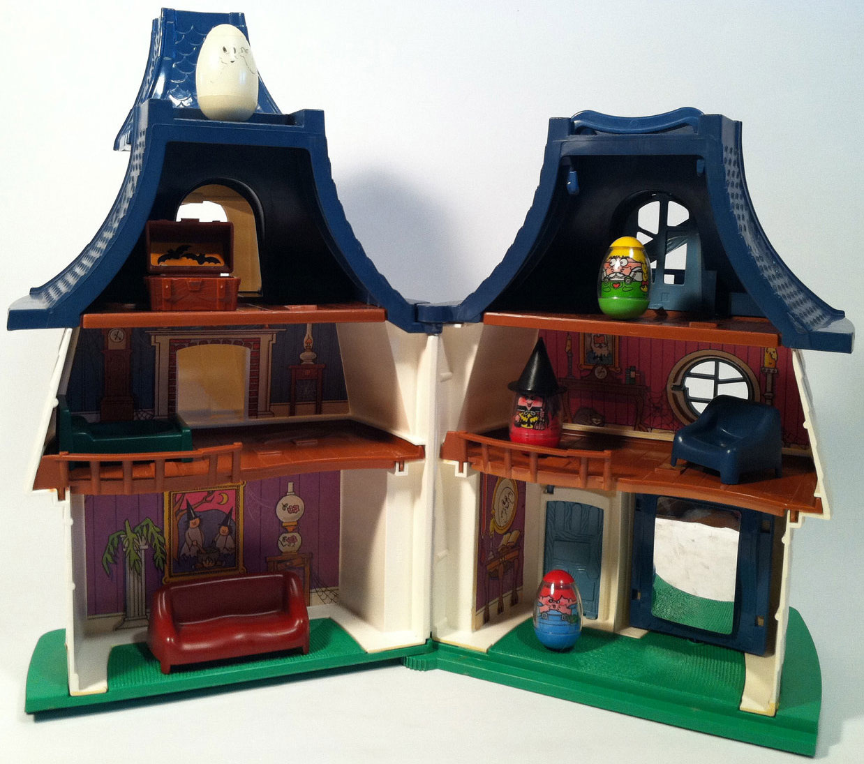 Hasbro Toys Weebles 580 Weebles Haunted House