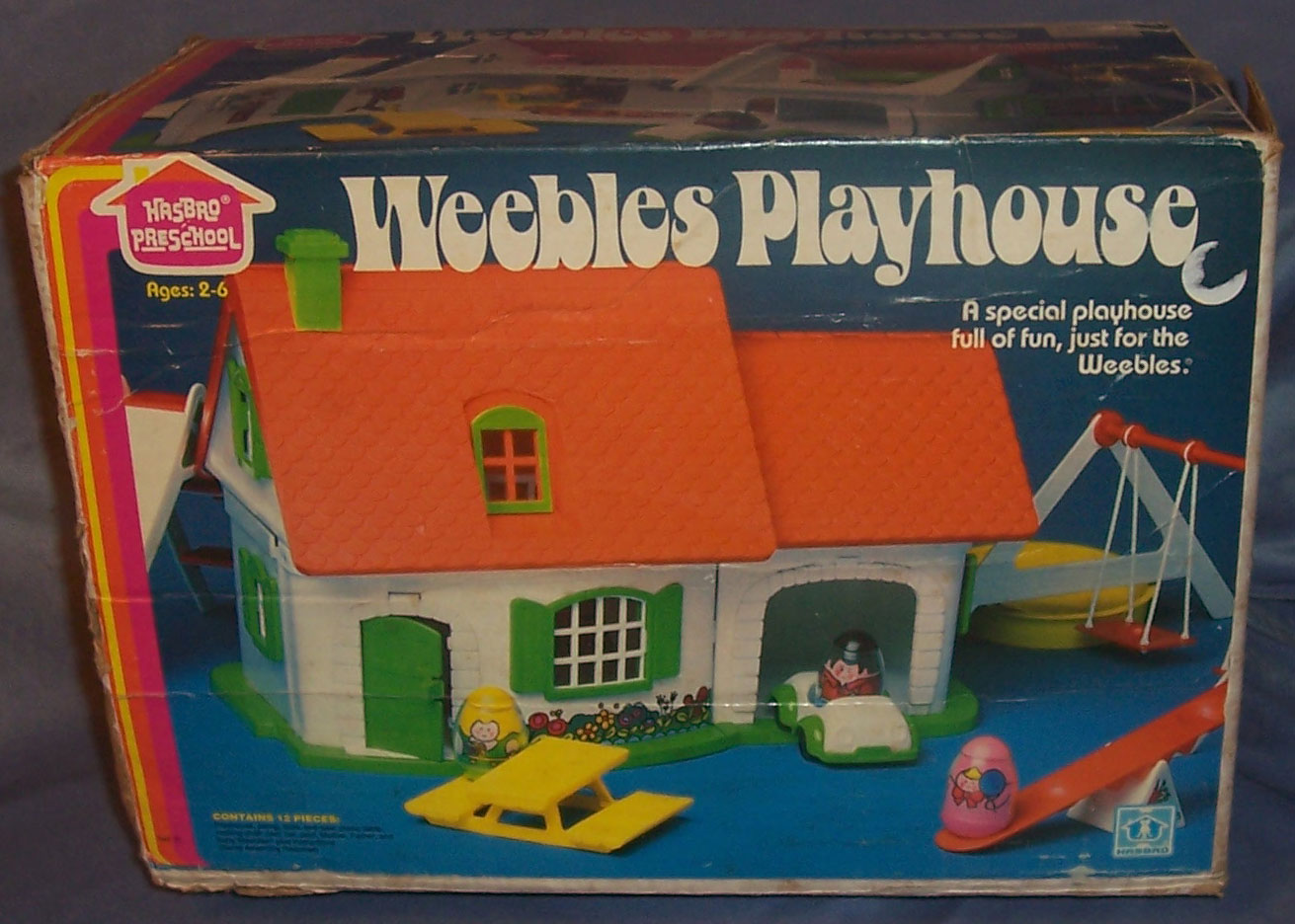 Hasbro Toys Weebles 592 Weebles Playhouse