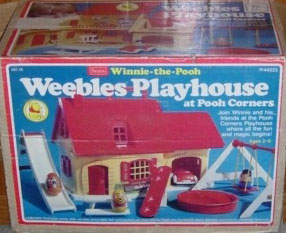Hasbro Toys Weebles Winnie The Pooh Weebles Playhouse