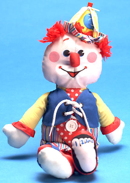 This old toy 39 s fisher price basic stuffed clown for Clown fish price
