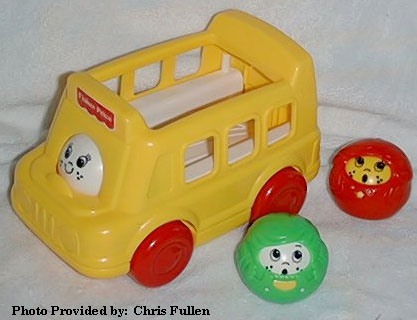 This Old Toy S Fisher Price Roll A Round Vehicle