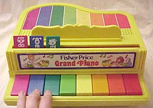 2201 Fisher Price Grand Piano