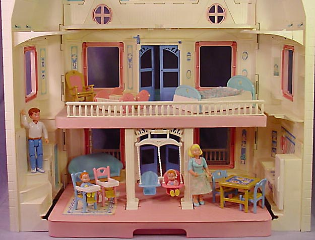 4600 74600 fisher price dream doll house for Accessory house