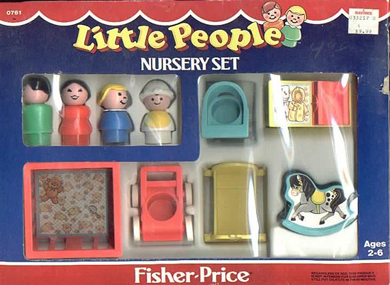 761 Play Family Nursery Set