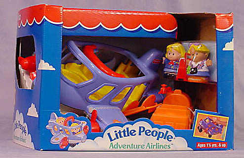 72597 Little People Adventure Airlines