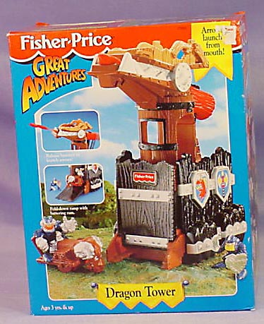 77055 Great Adventures Dragon Tower