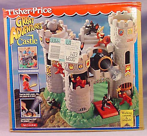 7110 77110 Great Adventures Castle