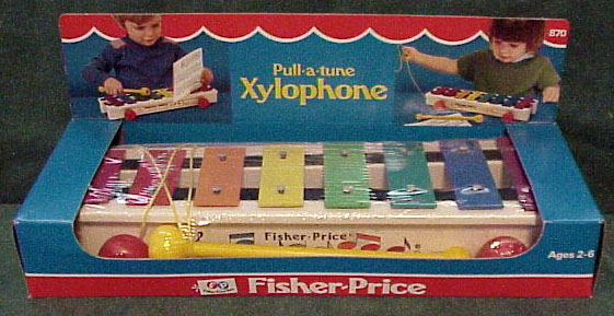 #870 Pull-A-Tune Xylophone
