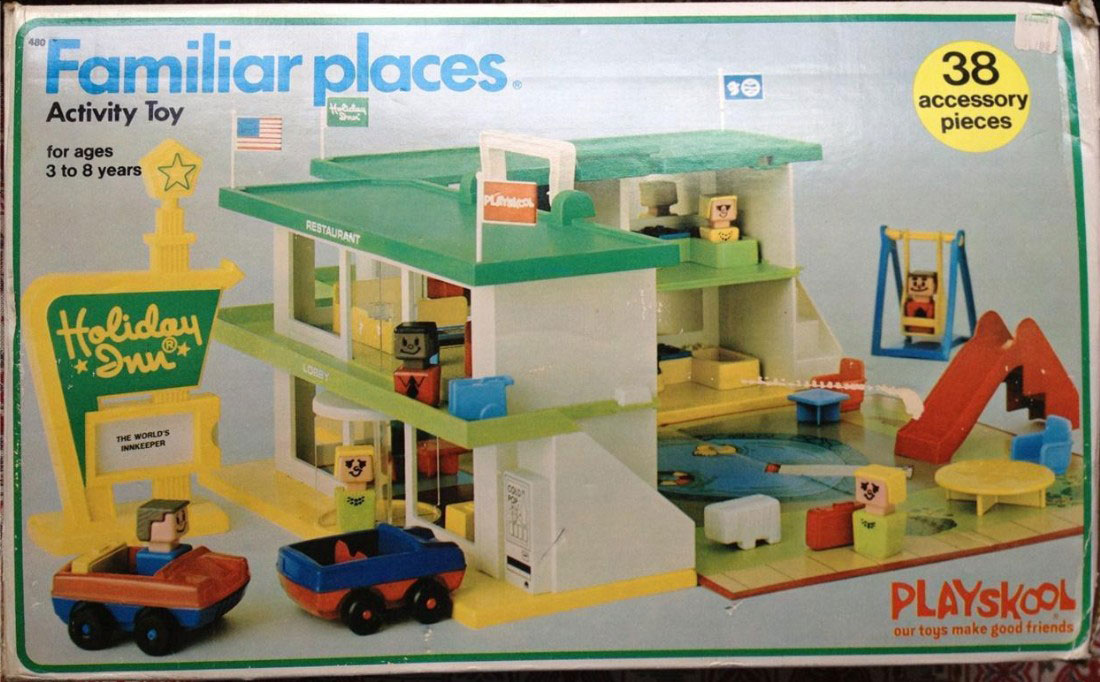 Playskool Familiar Places And Play Friends 480 Familiar