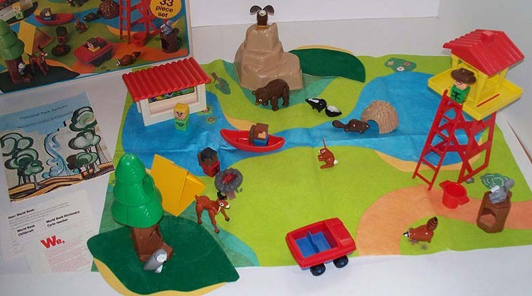 Playskool Familiar Places And Play Friends 481 Play