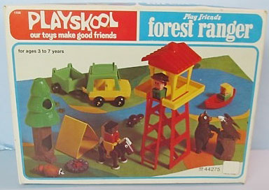 Playskool Familiar Places And Play Friends Play