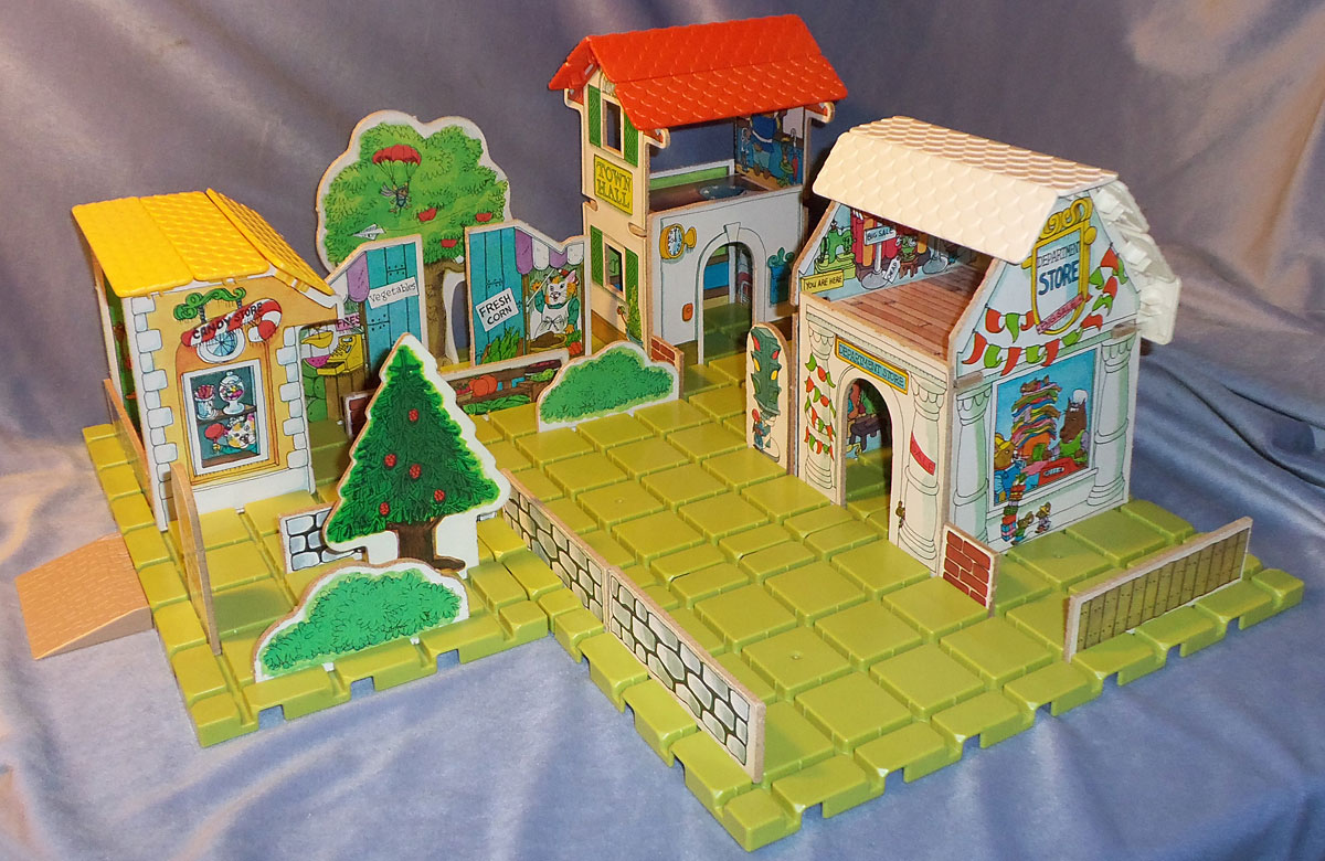 Playskool 918 Puzzletown Set D Mayor Fox S Town Center